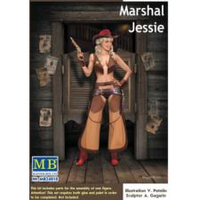 Master Box 1/24 Pin Up Series Marshal Jessie