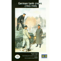 Master Box 1/35 German Tankcrew Kit #2 1943-45