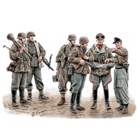 Master Box 1/35 German Soldiers Lets Stop Them Here!