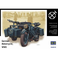 Master Box 1/35 German Motorcycle BMW R75 WW2