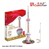 3D Cubic Fun Oriental Pearl Tower
