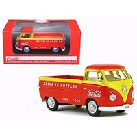 Motor City 1/43 1962 VW T1 Pickup - Red Coca Cola