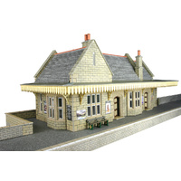 Metcalfe HO Stone Wayside Station Card Kit