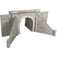 Metcalfe HO Single Tunnel Entrance Kit with Inner Arch Card Kit