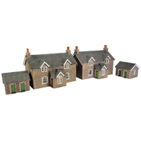 Metcalfe HO Workers Cottages Card Kit