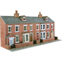 Metcalfe HO Low Relief Brick Terrace Fronts Card Kit