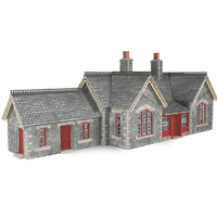 Metcalfe HO Settle-Carlisle R/Way Station Card Kit