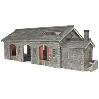 Metcalfe HO S & C Goods Shed Card Kit