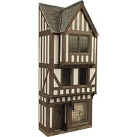 Metcalfe HO Low Relief Timberframed Shop Card Kit