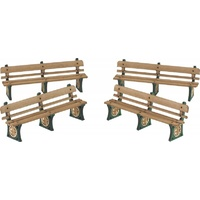 Metcalfe HO GWR Benches Card Kit