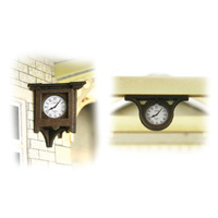 Metcalfe HO Station Clocks Card Kit