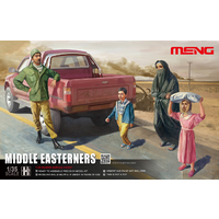 Meng 1/35 Middle Easterners In The Street MHS-001