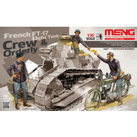 Meng 1/35 French FT-17 Crew and Orderly Set