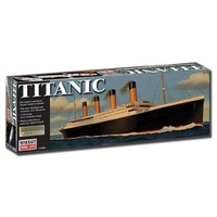 Minicraft 11320 1/350 Deluxe RMS Titanic with photo-etched parts Plastic Model Kit