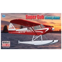 Minicraft 1/48 Piper Super Cub Float Plane with 2 marking options Plastic Model Kit 11663
