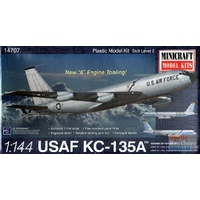 Minicraft 1/144 KC-135A USAF SAC with 2 marking options Plastic Model Kit 14707