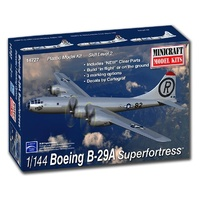 Minicraft 1/144 B-29A Stratofortress (new tooling for clear parts) Plastic Model Kit 14727