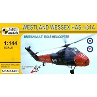 Mark I Models 1/144 Westland Wessex HAS.1/HAS.31A (Royal Navy, A&AEE, Royal Australian Navy) Plastic Model Kit