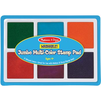 Melissa & Doug - Jumbo Stamp Pad 6 Colours