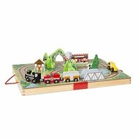 Melissa & Doug - Take-Along Tabletop – Railroad