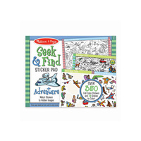 Melissa & Doug - Seek & Find Sticker Pad - Adventure