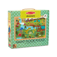 Melissa & Doug - Natural Play - Giant Floor Puzzle Dinosaurs