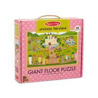 Melissa & Doug - Natural Play - Giant Floor Puzzle Princess Fairy