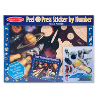 Melissa & Doug Peel & Press Sticker - Space Mission MND4008