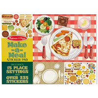 Melissa & Doug - Sticker Collection - Make-A-Meal