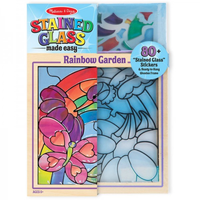 Melissa & Doug Stained Glass - Rainbow Garden