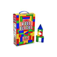 Melissa & Doug 100 Wood Block Set MND481