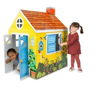 Melissa & Doug - Cardboard Indoor Playhouse - Cottage