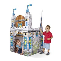 Melissa & Doug - Cardboard Indoor Playhouse - Castle