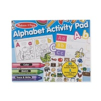 Melissa & Doug Alphabet Activity Pad 8563