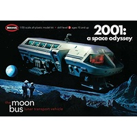 Moebius 2001-1 1/50 2001 Moon Bus Plastic Model Kit