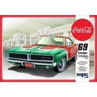 MPC 919M 1/25 1969 Dodge Charger RT (Coca Cola) Snap (2T) Plastic Model Kit