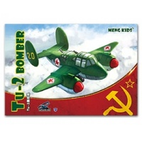 Meng Kids Soviet TU-2 WW2 Bomber Snap Kit PL-004