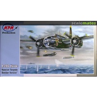 MPM 1/72 Douglas A-20G Havoc Russian Torpedo Bomber version Plastic Model Kit