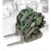 Miniature Scenery - Heavy Industrial Forklift (Radial Engine)