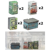 Miniature Scenery - Vending Machines