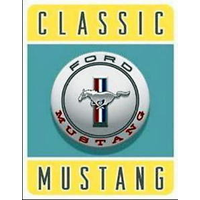 Tin Sign - Ford Classic Mustang MS1122