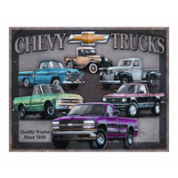 Tin Sign - Chevy Truck Tribute MS1747