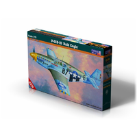 Mistercraft 1/72 P-51 B-15 Bald Eagle Plastic Model Kit C-54