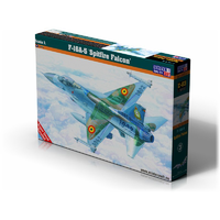 Mistercraft 1/72 F-16A-5 Spitfite Falcon Plastic Model Kit D-03