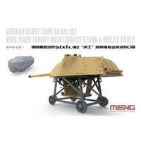 Meng 1/35 Sd.Kfz.182 King Tiger Turret Maintenance Stand & Muzzle Cover