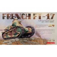 Meng 1/35 Renault FT-17 Tank with Riveted Turret