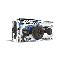 Maverick MV150105 Quantum XT 1/10 4WD Brushed Electric Truggy (Blue/Black)