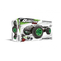 Maverick MV150206 Quantum XT 1/10 4WD Flux Brushless Electric Truggy (Silver/Green)