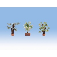 Noch HO Mediterranean Plants, 3 pieces N14023