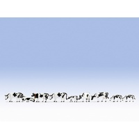 Noch N Cows, black-white (9 figures) N36721